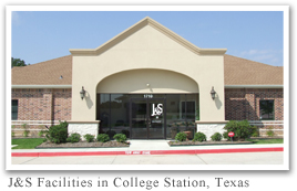 J&S Studies offices in College Station, Texas